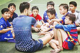 ソルティーロファミリアサッカースクールカンボジア/ブノンペン校